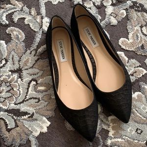 Steve Madden Shoes - Black Steve Madden flats NEW